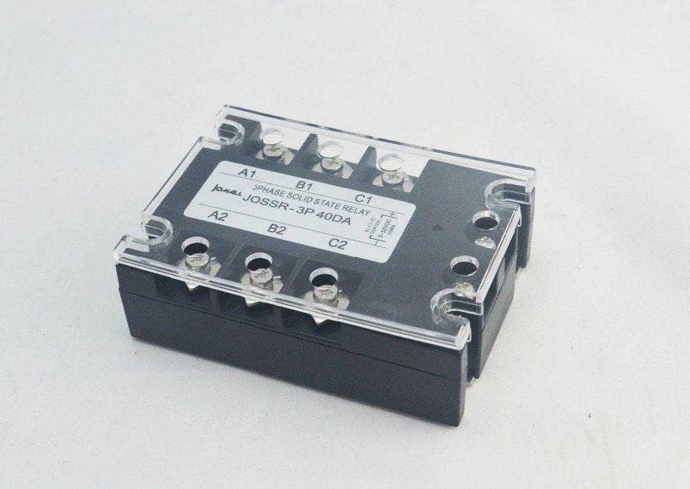 40A DC control AC three phase Solid state relay SSR ac three
