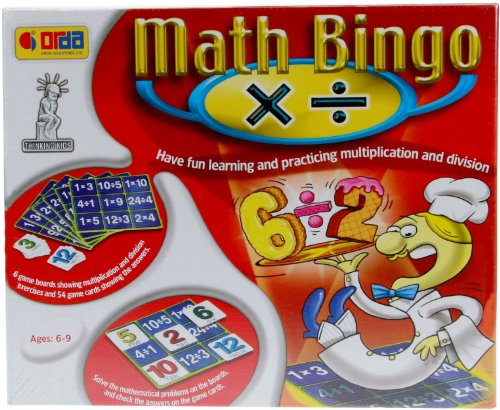 Learning Advantage - Math Bingo Multiplication Division ()