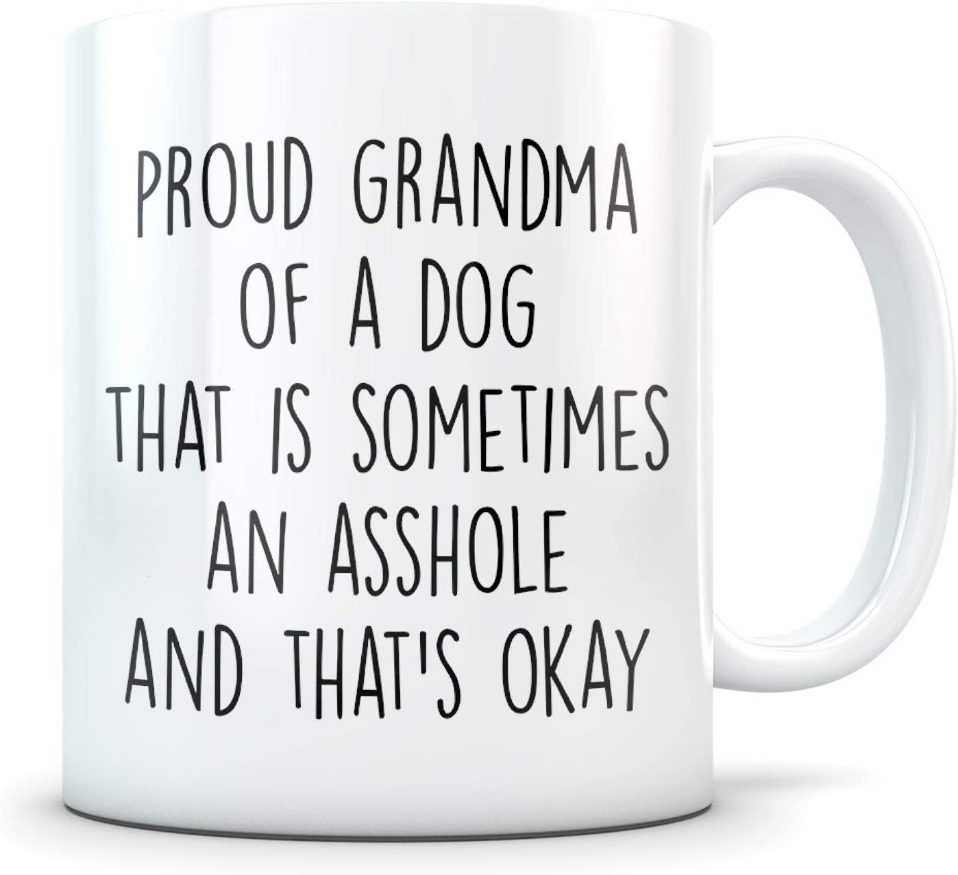 Dog grandma gift, grandma dog, dog grandma mug, dog grandmother, dog grandma coffee mug, best grandma dog, k9 grandma, dog grandmother