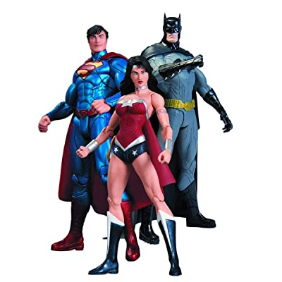 DC Collectibles DC Comics The New 52 Trinity War Action Figure Playset: Toys & Games