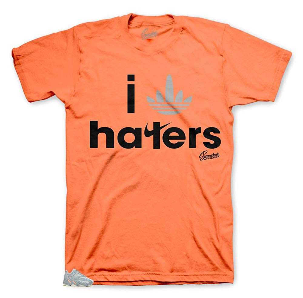timeless design 84e49 8cef2 Tee Shirt Match Yeezy Boost Inertia 700 - Stripe Haters Tee   Amazon.com