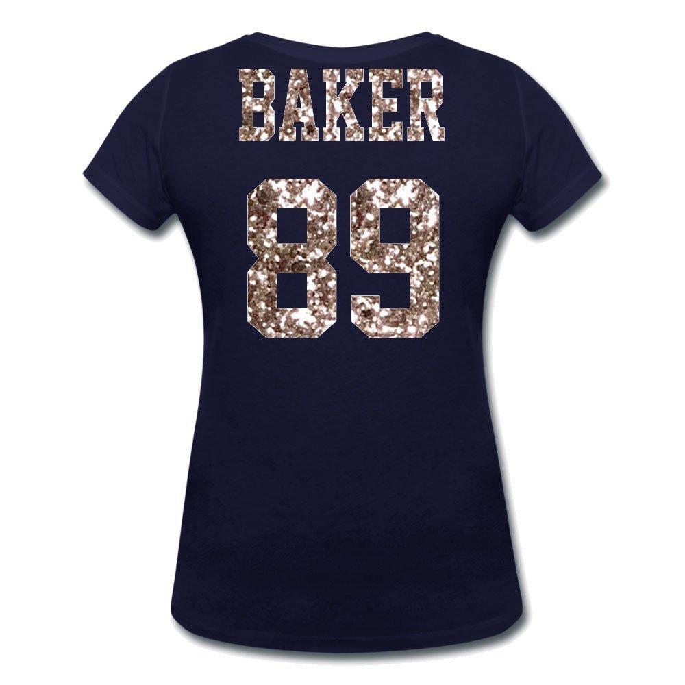 Black and Silver Bling Women's Mom Shirt - Gift- Basketball, Baseball, Football