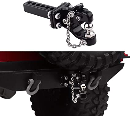 1:10 RC Accessories Tow Chain with Trailer Hook for Traxxas TRX4 Axial SCX10 II