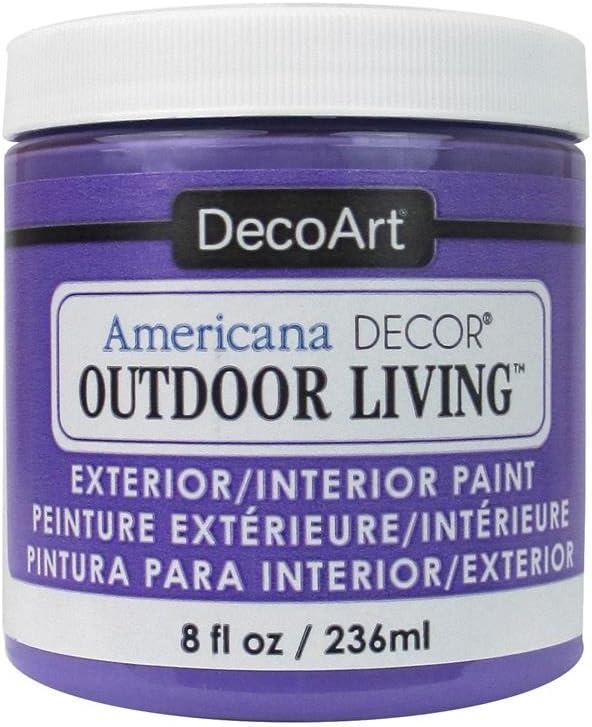 DecoArt Americana Outdoor Living 8oz Pansy, Purple