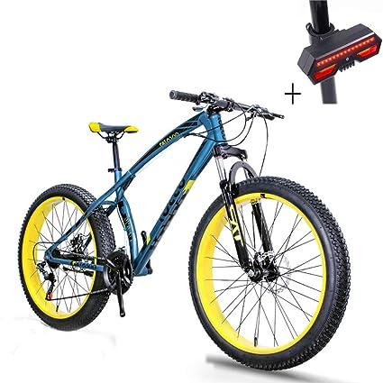 a9767e418c7 Amazon.com: Huoduoduo Bike, Mountain Bike, 26 Inch 7 Speed Disc ...