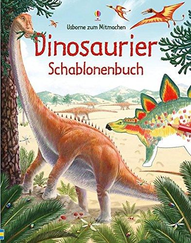 dinosaurier-schablonenbuch