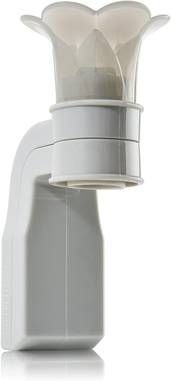 Bath & Body Works Grey Flower Top Wallflower Plug In Diffuser -- Home Fragrance Wallflower Plug
