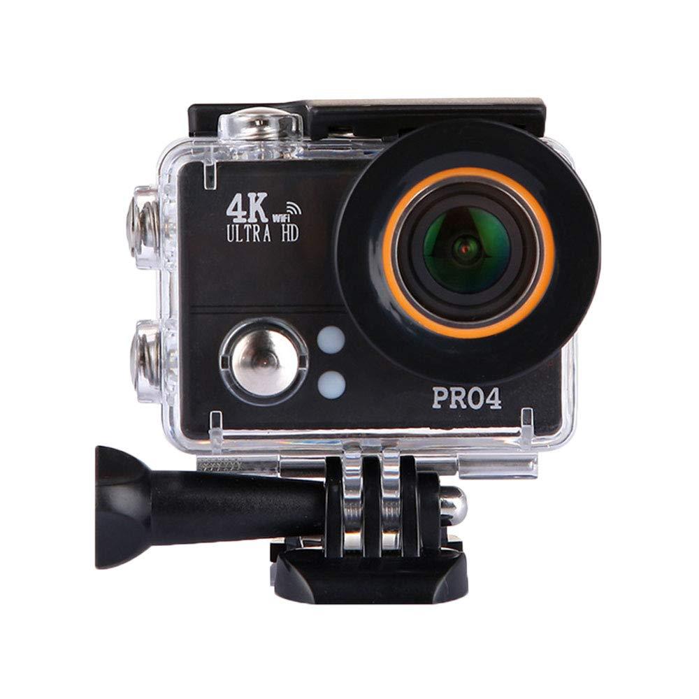 TOPmountain 4K Action Camera Wasserdichte Kamera, 170 ° Remote Hd 1080P Action Kamera Video Für Outdoor - Schwarz