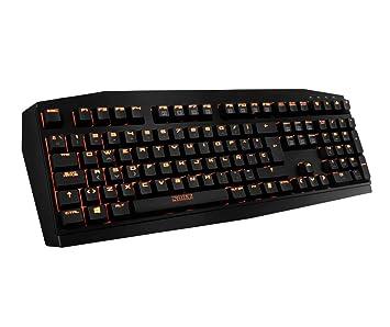 Nox Teclado Gaming Krom Kratos Cherry Blue Led Nar: Amazon.es: Electrónica