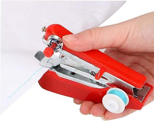 Mini máquina de Coser a Mano portátil, Coser portátil al Aire ...