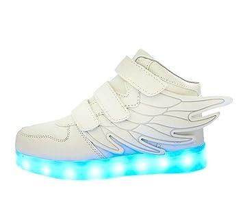 Besondere Frühling Sommer Kinder LED Schuhe USB lade glowing