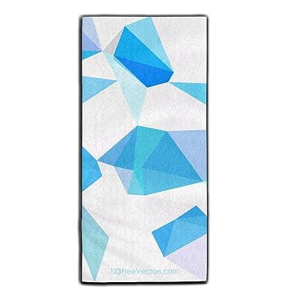 TYY 100% poliéster fibergeometric formas de rizo toallas de Ultra absorbentes toallas de cuidado de
