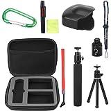 holaca Ricoh Theta M15& Theta S Kit di accessori per, 10-in1Borsa Accessori per Theta S e Theta M15