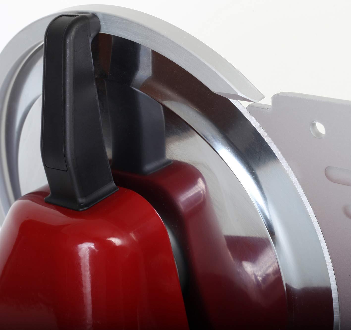 Alluminio 120 W Rosso RGV 90248 Affettatrice