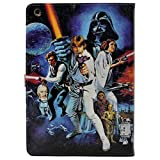 ipad 3 case vintage - iPad 2/3/4 Case, A New Hope Characters Vintage Pattern Leather Flip Stand Case Cover For Apple ipad 2 ipad 3 ipad 4