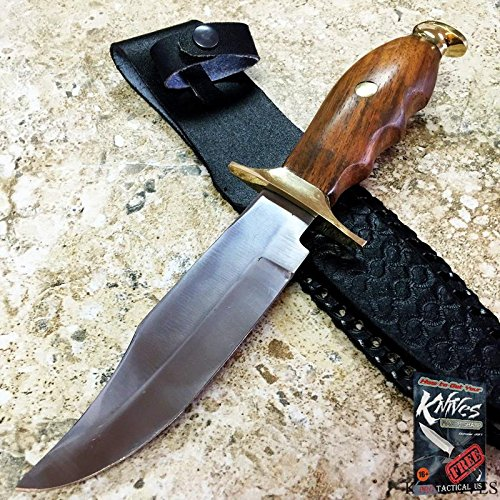 (Civil War Re-Enactment Fixed Blade Bowie Skinning Elite Knife Hunting Skinner Camping + free eBook by ProTactical'US)