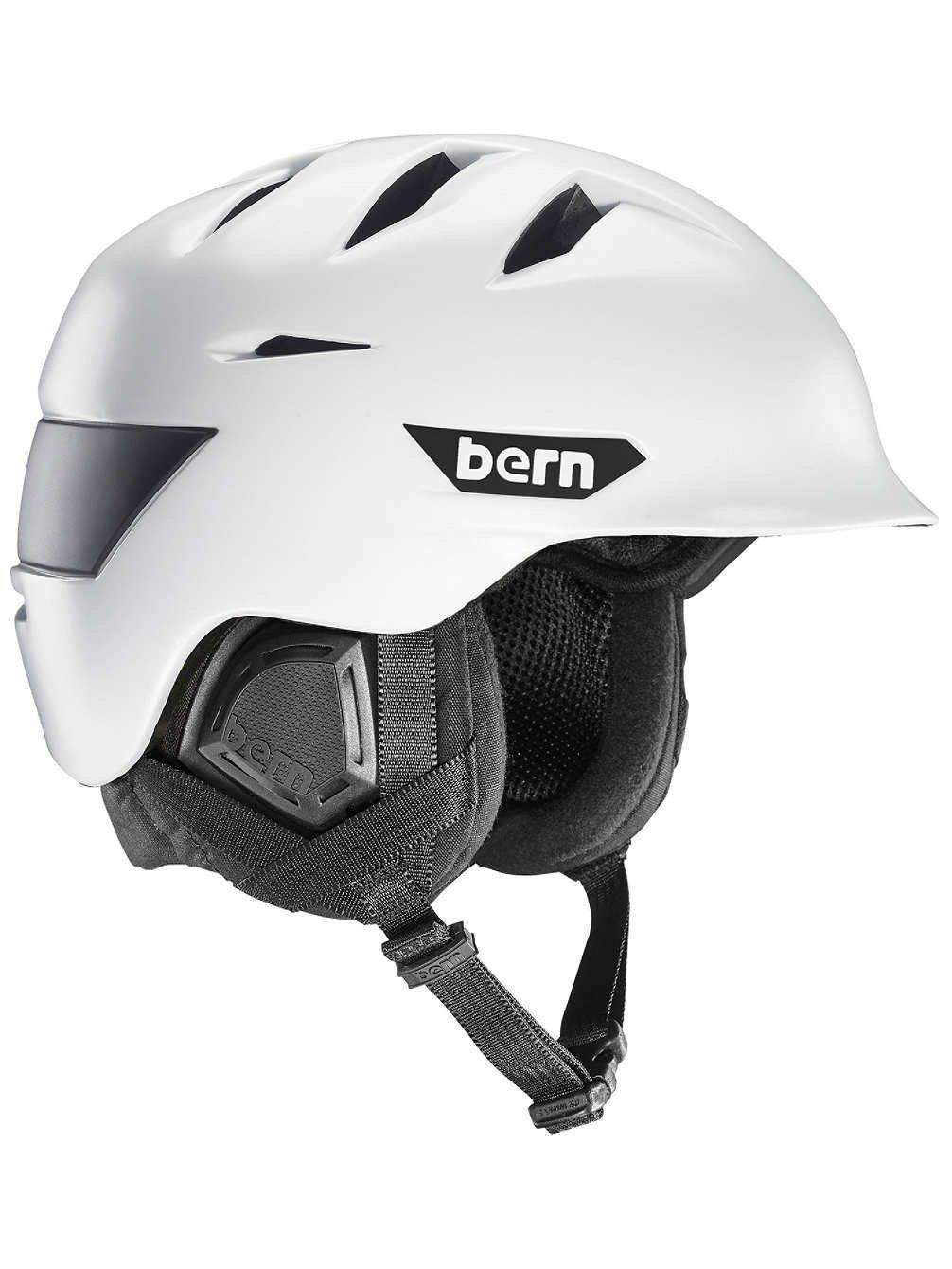 Bernヘルメット – BernヘルメットRollins – マットブラック B06XCD23TV Medium|サテンホワイト サテンホワイト Medium