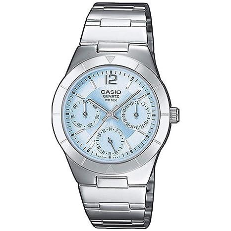 Amazon.com: Casio General Señoras relojes metal Fashion ltp ...