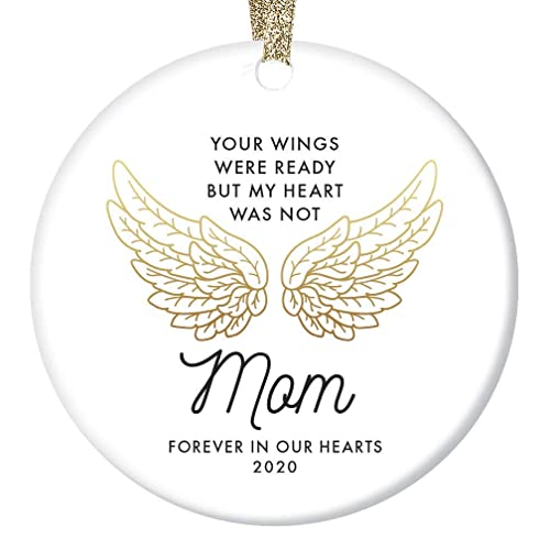 Christmas Angels Love Ornament 2020 Amazon.com: In Loving Memory of Mom Ornament 2020 Christmas