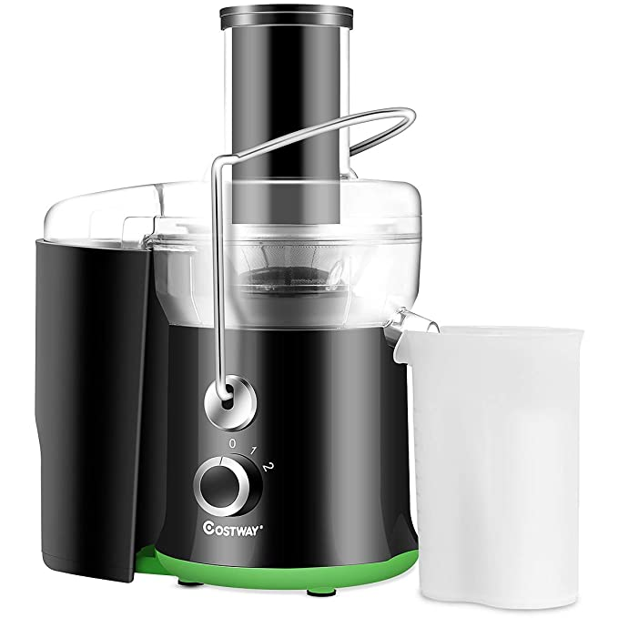 Costway Juicer Juice Extractor, High Speed Juicer, Juicer Machine for Fruits and Vegetable,Stainless Steel,400 Watt