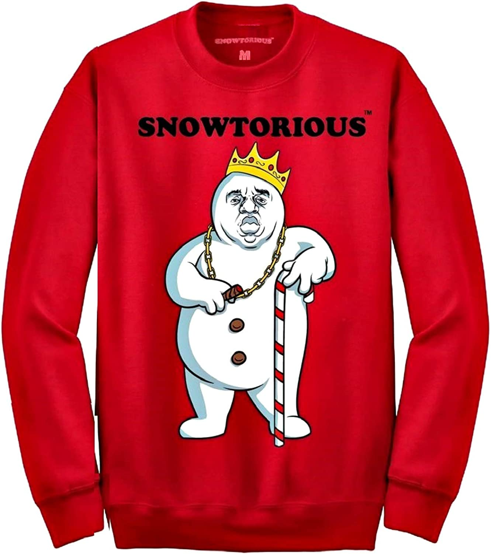Snowtorious - Ugly Christmas Sweater - Funny Christmas Sweatshirt