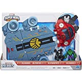 Playskool Heroes Marvel Super Hero Adventures Helicarrier Vehicle with War Machine Figure