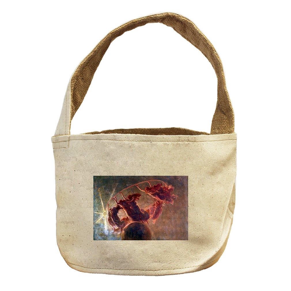 Style in Print The Dance Of The Hours 2 By Previati Canvas and Burlap Storage Basket Basket