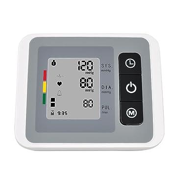 Denshine tensiometro digital de brazo Digital automatico de la presion arterial y Pulsometro: Amazon.es: Salud y cuidado personal