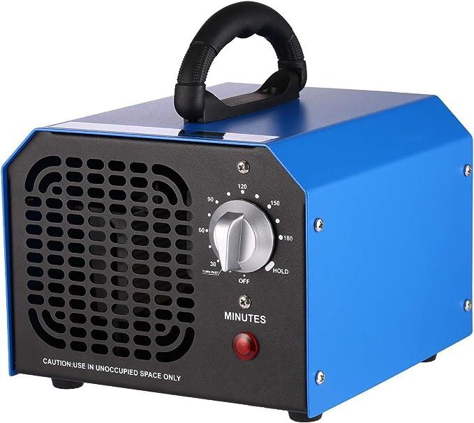 Generador de ozono 6000 mg, generador de ozono, purificador de aire, desinfectante, esterilizador de ozono, dispositivo de ozono con temporizador: Amazon.es: Bricolaje y herramientas