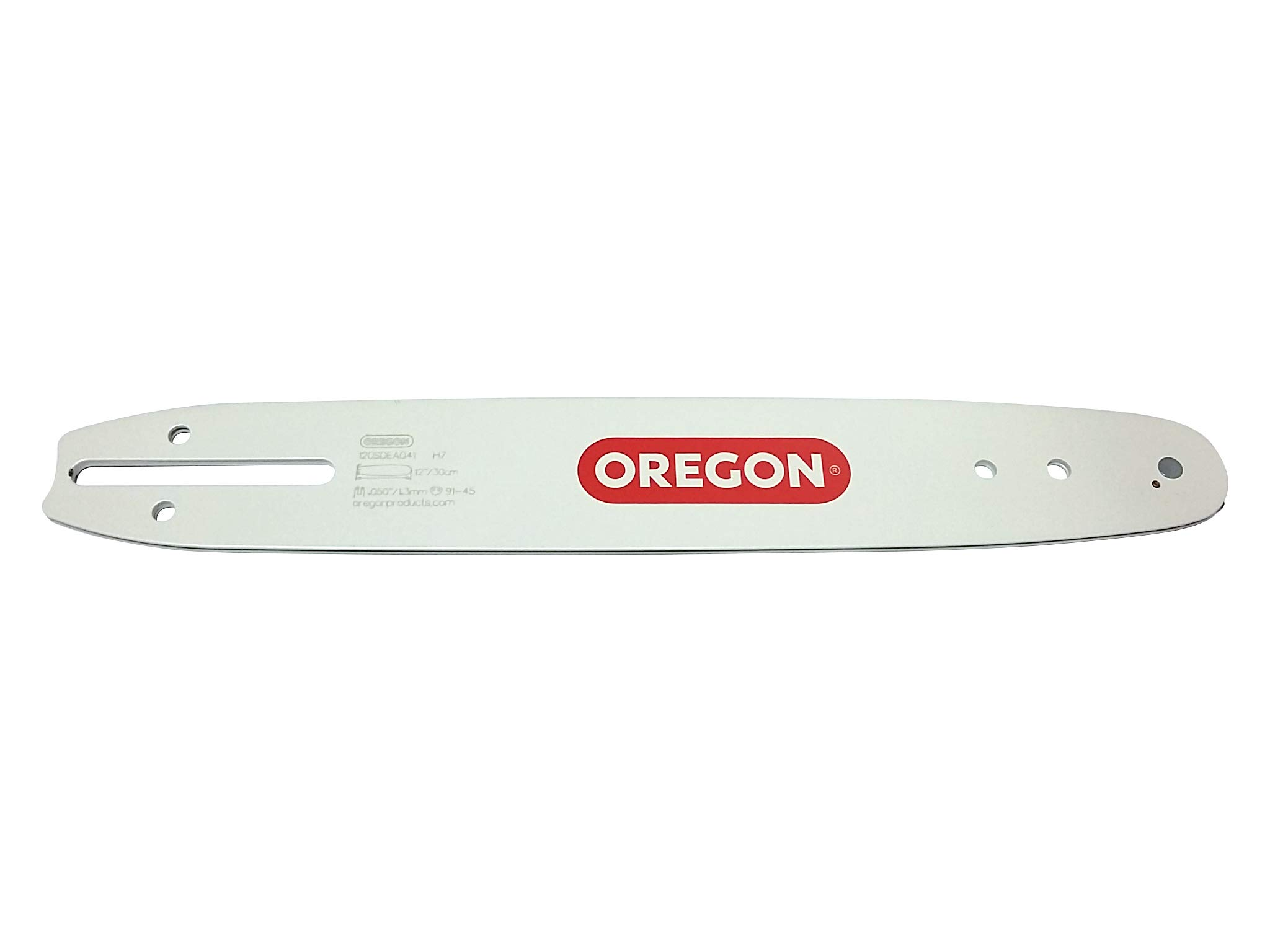 Oregon 120SDEA041 Single Rivet Guide Bar, 12'' by Oregon