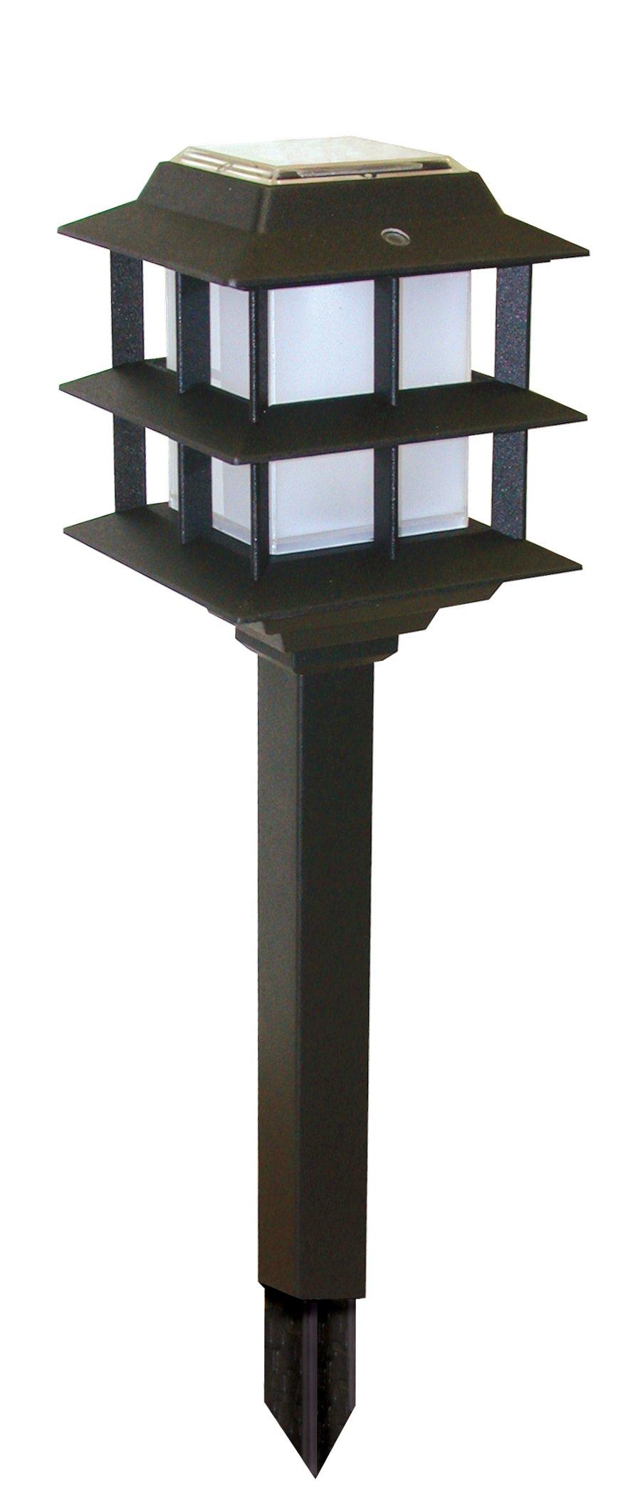Brinkmann 822-0561-2 Modern Tier Solar Accent Light Set