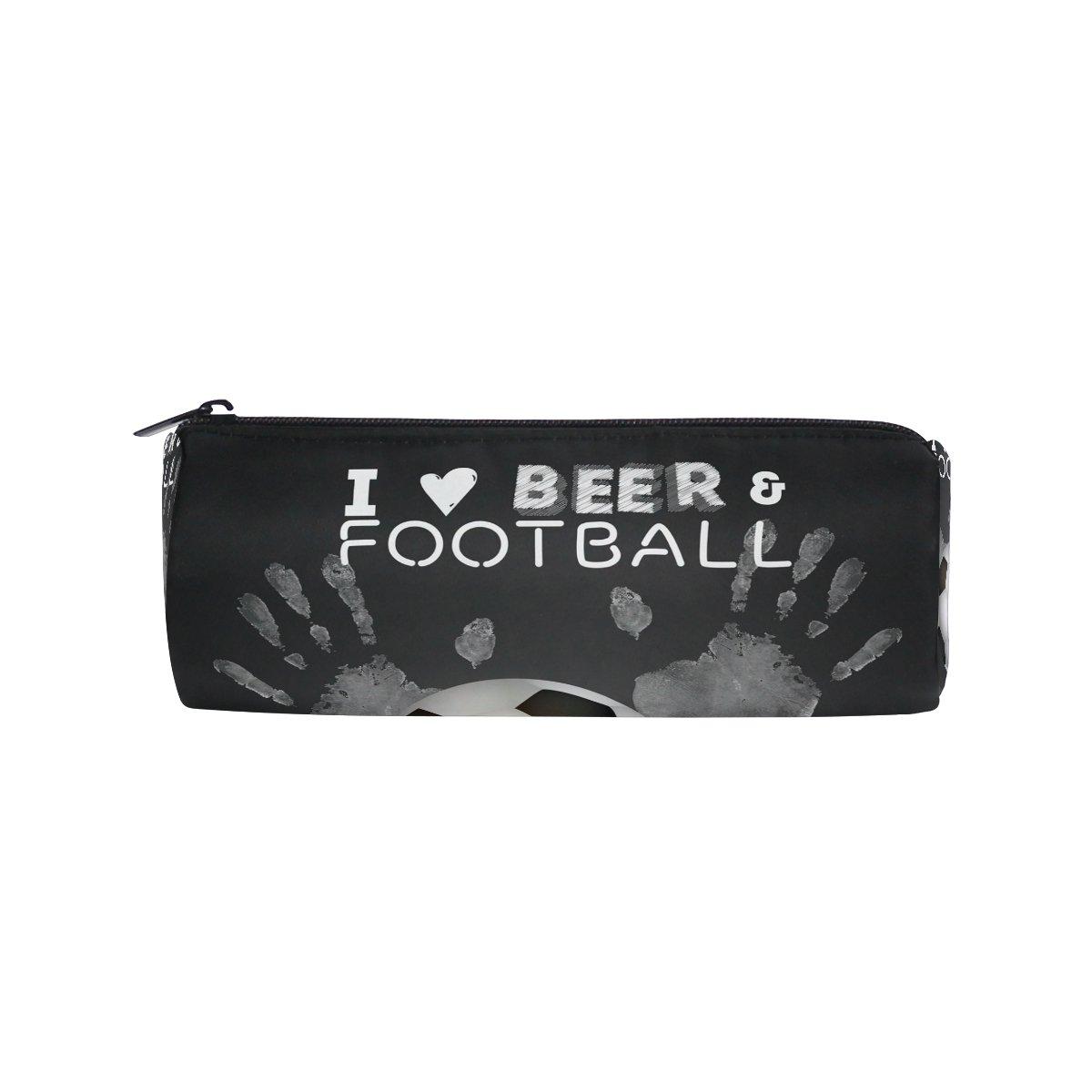 Bennigiry - Estuche para bolígrafos de fútbol y cerveza ...