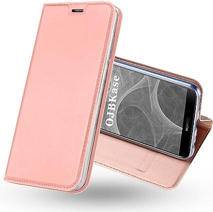 OJBKase Cover Huawei Mate 10 Lite, Flip Caso Custodia in Pelle PU di Alta qualità Premium Portafoglio con Interno TPU Antiurto e Protettiva Flip ...