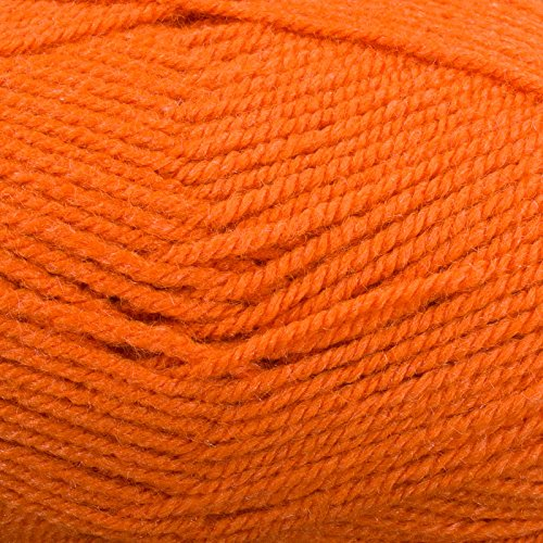 Plymouth (1-Pack) Encore Worsted Yarn Bright Orange 1383-1P (Encore Worsted)