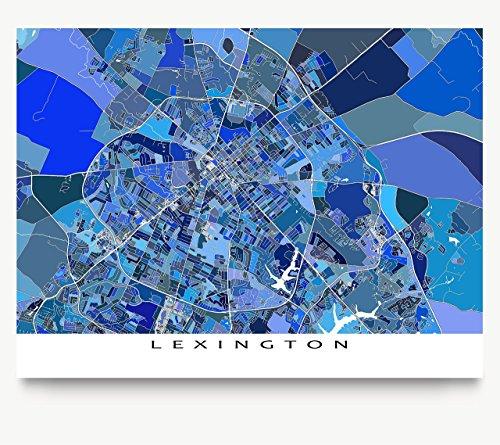 lexington-map-print-kentucky-usa-digital-street-art-blue