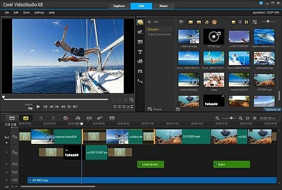 Corel Videostudio Pro X8 Ultimate Download Amazon Co Uk Software