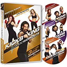 Kickboxing Cardio Workouts 3 DVD Power Pack with Guillermo Gomez