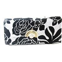 Taniyabag Women's Wallet (Black and White)