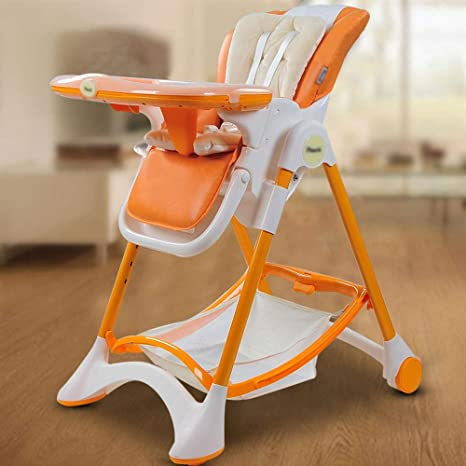 Swell Amazon Com Jiu Si Baby High Chair Preferably Leather Andrewgaddart Wooden Chair Designs For Living Room Andrewgaddartcom