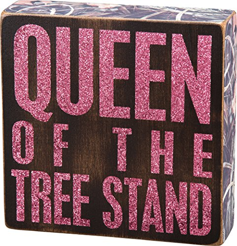 Primitives-by-Kathy-Box-Sign-6-Inch-by-6-Inch-Tree-Stand