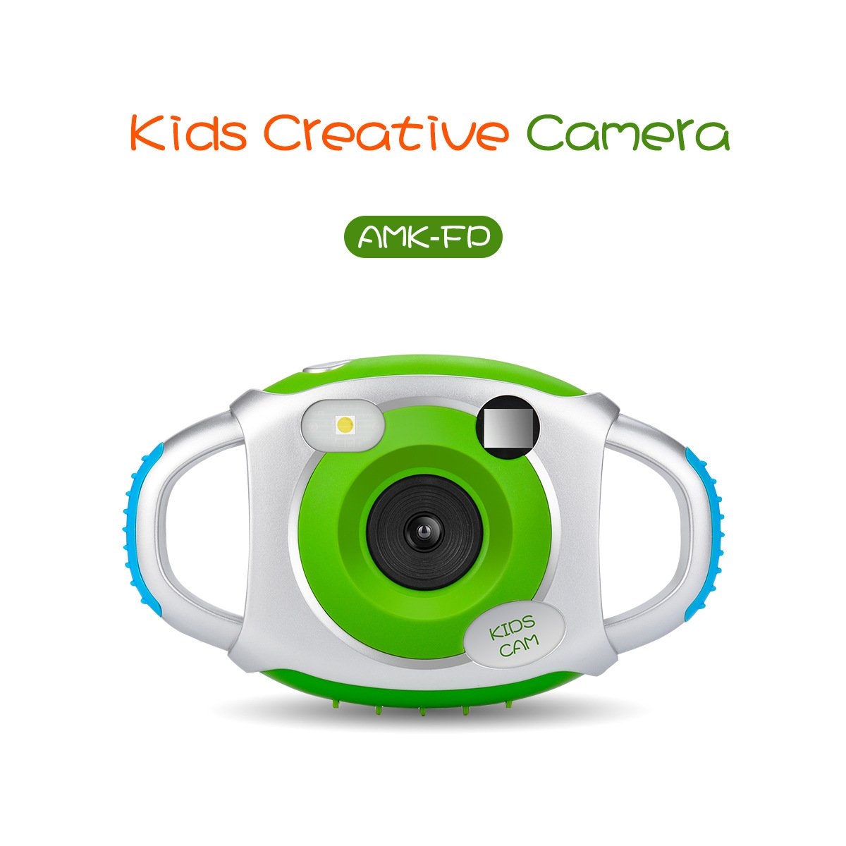 Easy to Use Yellow 16G Micro SD Card 12MP HD Underwater Action Camera Camcorder with 8X Digital Zoom 2.0 Inch LCD Display Kids Waterproof Camera Digital Camera for 4-10 Years Old Children