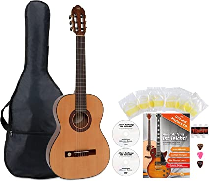 VGS Pro Arte GC de 100 a Guitarra de concierto 7/8 Starter Set ...