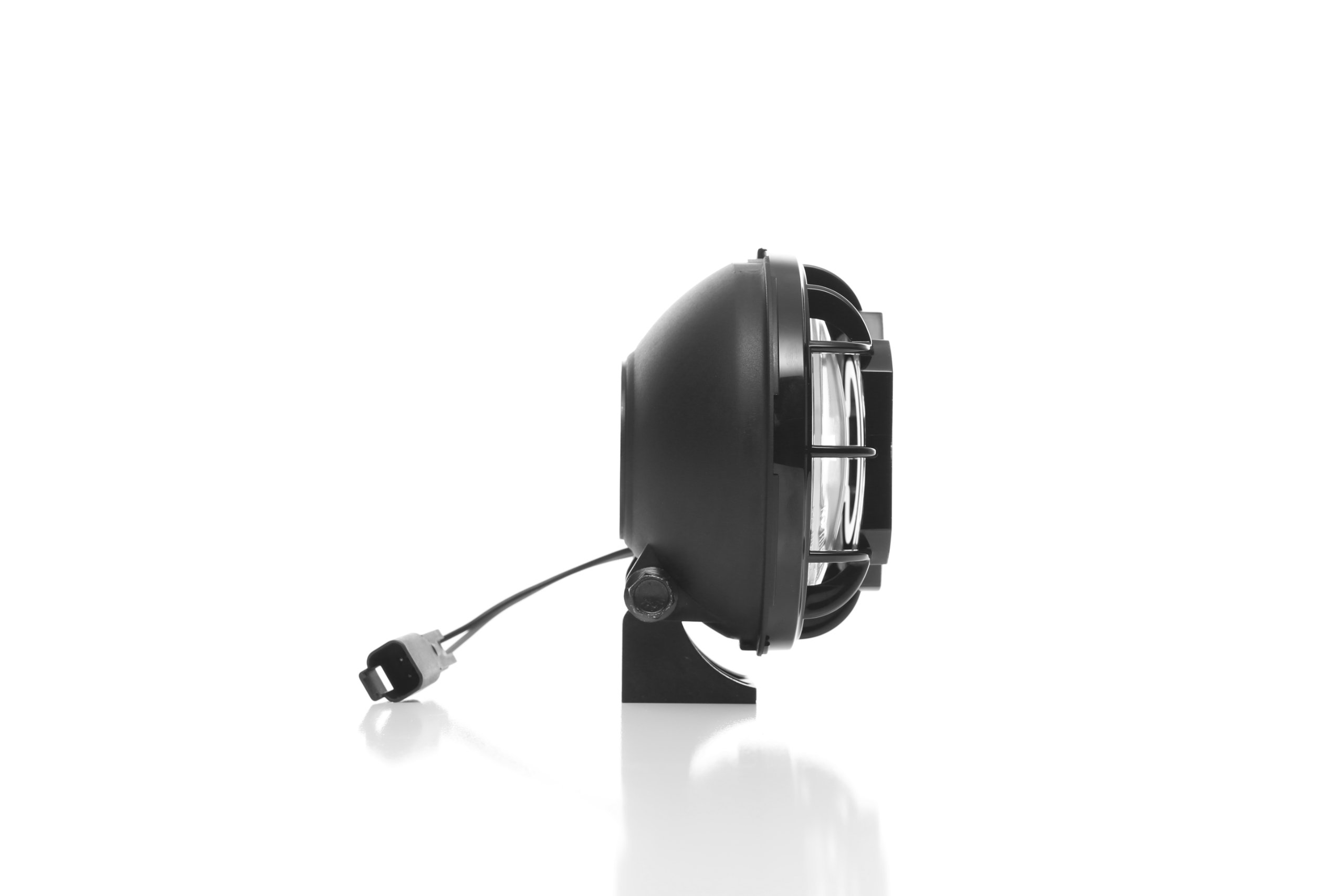 KC HiLiTES 450 Apollo Pro 5'' 55w Spot Beam Light with Integrated Stone Guard - Pair Pack System
