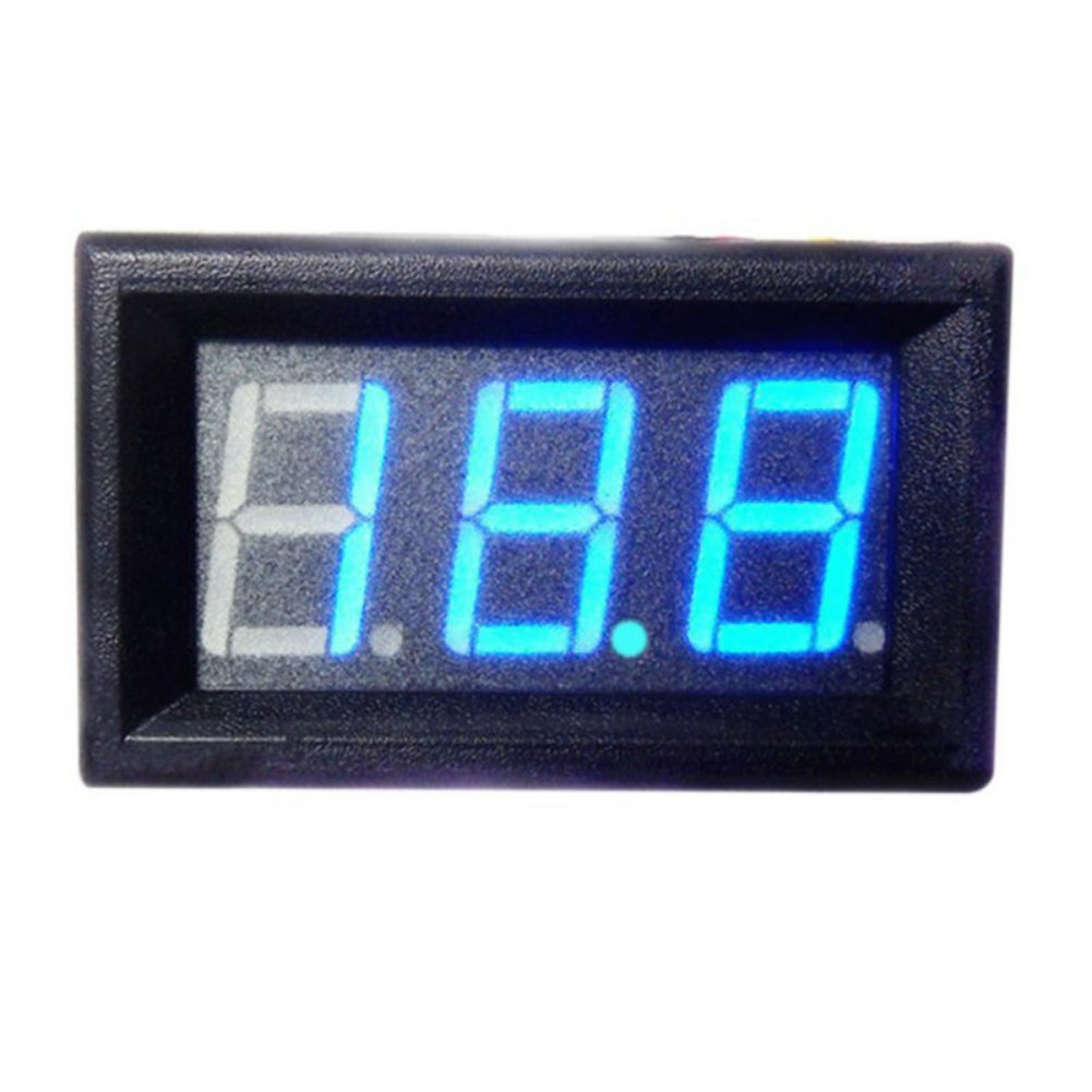 Balai DC 0-30V LED 3-Digital Display Voltmeter Panel: Amazon.de ...