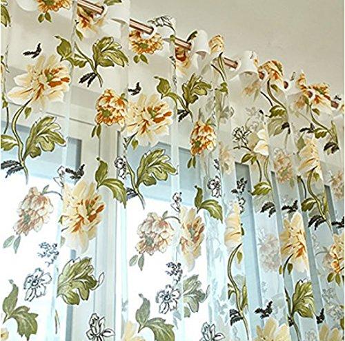 Aiweasi Burnt Decorative Curtain Screens Beige 1X2M
