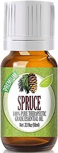Spruce Essential Oil - 100% Pure Therapeutic Grade Spruce Oil - 10ml