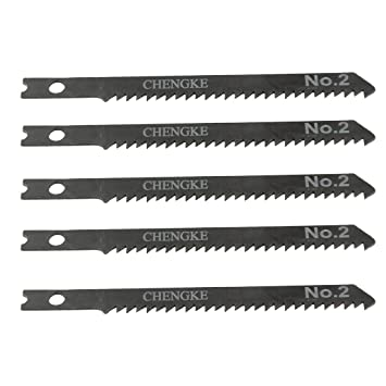 Uxcell 5 pcs 35 long jigsaw blades w hole for electric power tool uxcell 5 pcs 35 long jigsaw blades w hole for electric power tool jig saw blades amazon keyboard keysfo Gallery