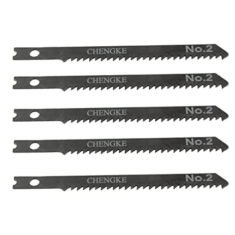 Uxcell 5 pcs 35 long jigsaw blades w hole for electric power uxcell 5 pcs 35quot long jigsaw blades w hole for electric power tool greentooth Choice Image