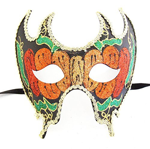 [Mask Autumn 03 Halloween Venetian Costume Prom Party Mardi Gras Masquerade] (Halloween Costumes 03)