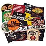 assorted traditional beer mats set of 50 pub drinks coasters ideal for collectors - Designer Electric Wall Heaters